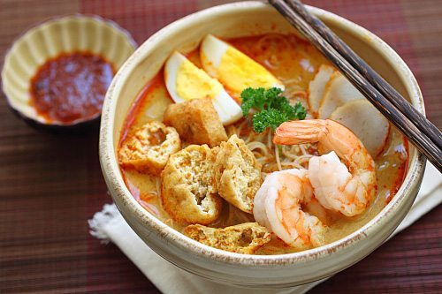sourcesofrecipes: Malaysian Curry Laksa