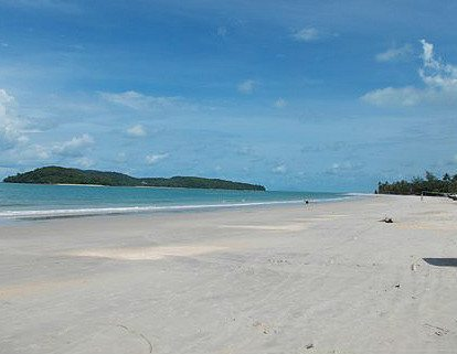 deserted paradise beaches of pantai cenang, naturally langkawi