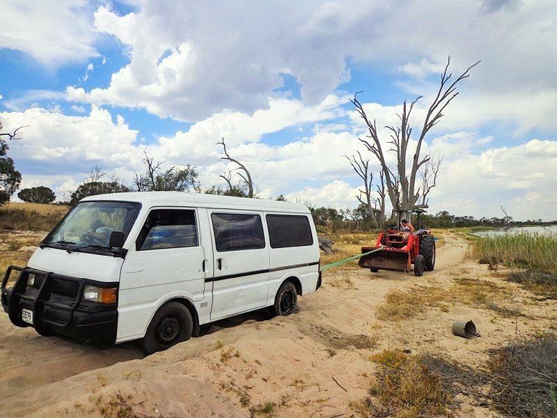 stuck van Australia