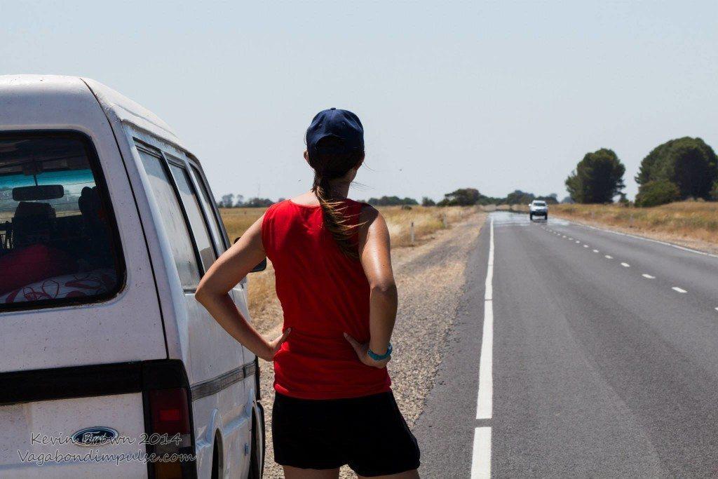 me campervan road