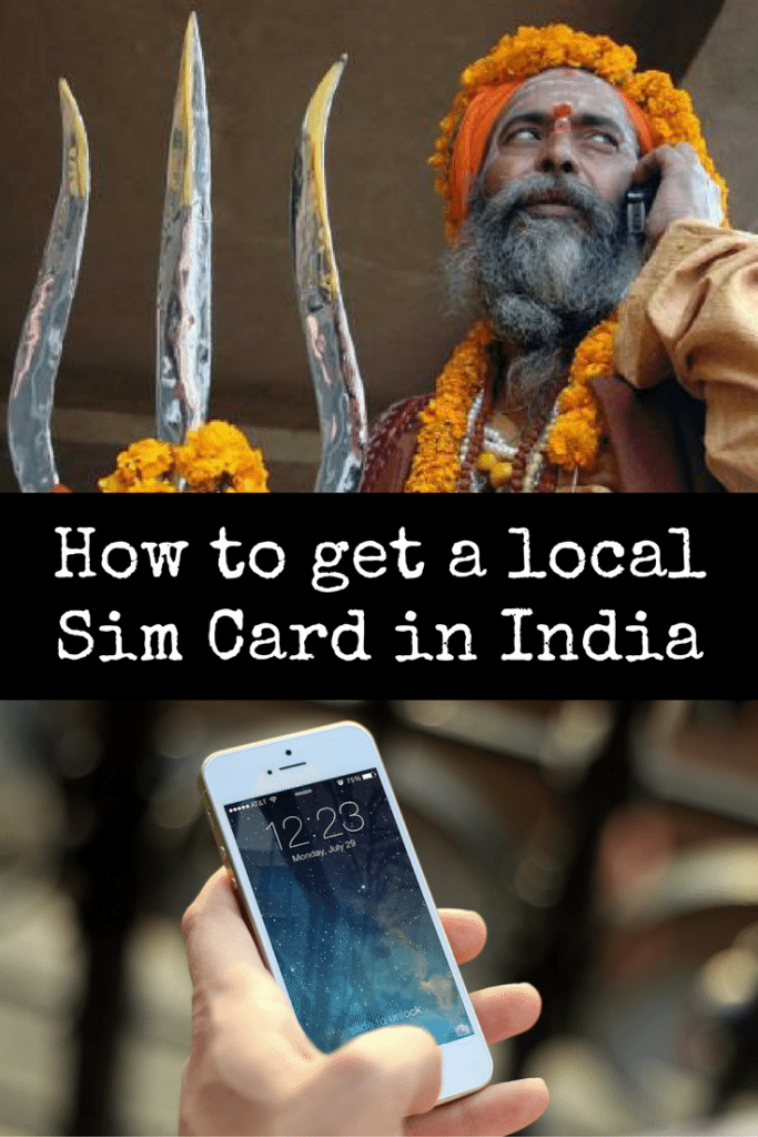 How to get a local sim card in India
