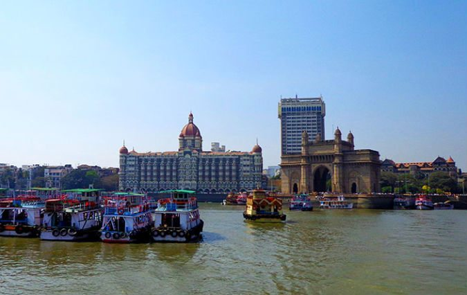 View of Mumbai's iconic Gateway of India