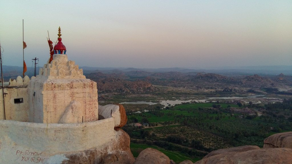 hampi sunset temple (1 of 1)
