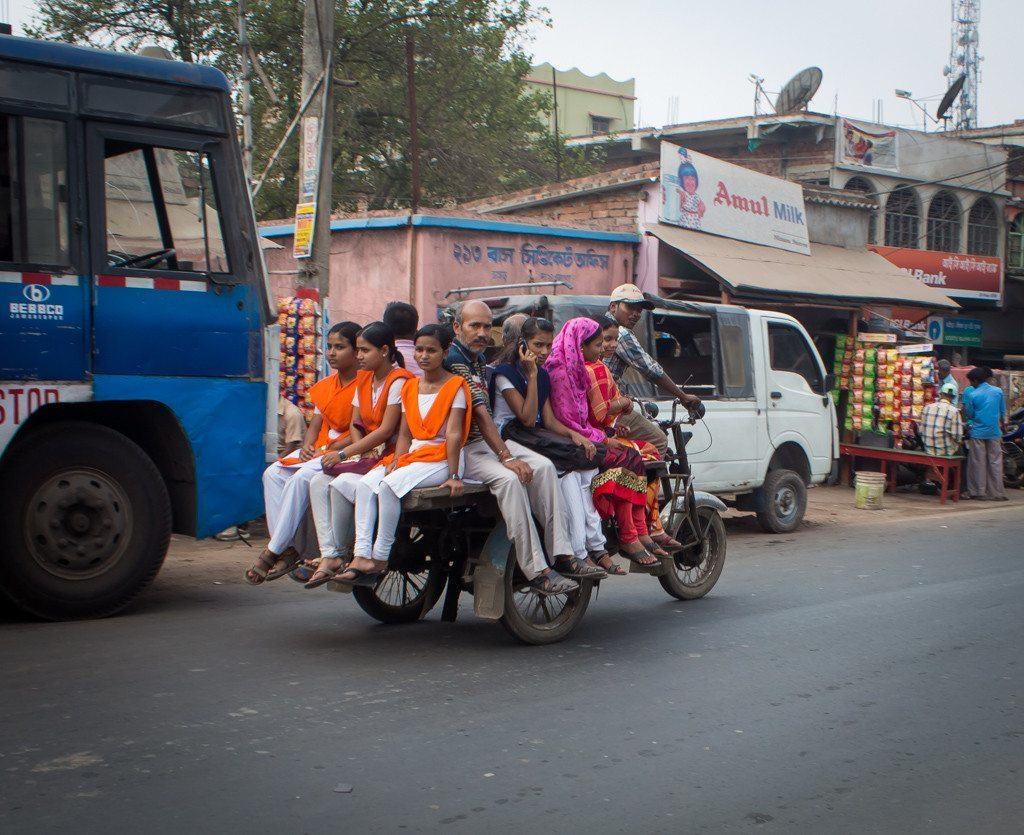 Improvised transport options in West Bengal