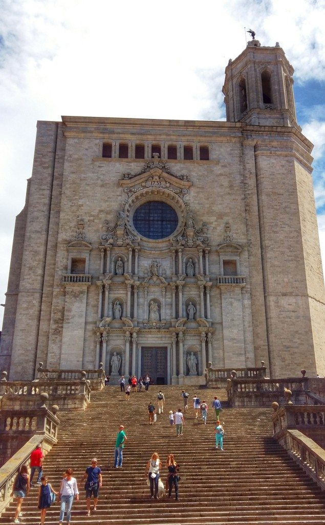 Girona's impressive cathedral