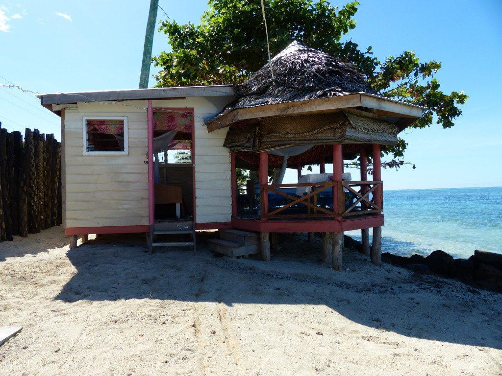 work from a beach in samoa