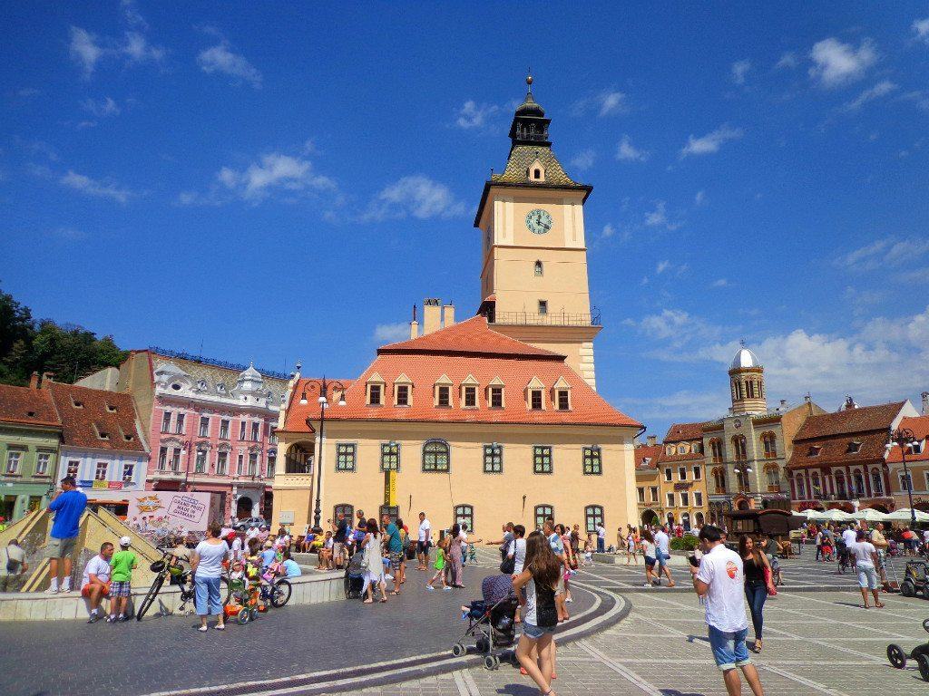 Brasov in Romania is cheap to visit