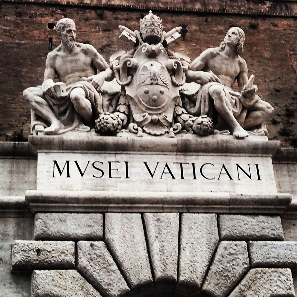 Entering The Vatican Museum