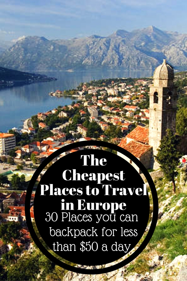 The cheapest places to travel in europe 1 global for Cheap place to go for vacation