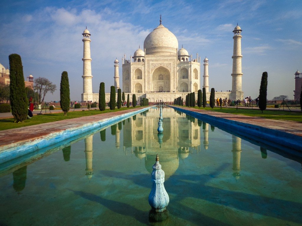 You will soon forget about visa frustrations when you see the Taj Mahal!