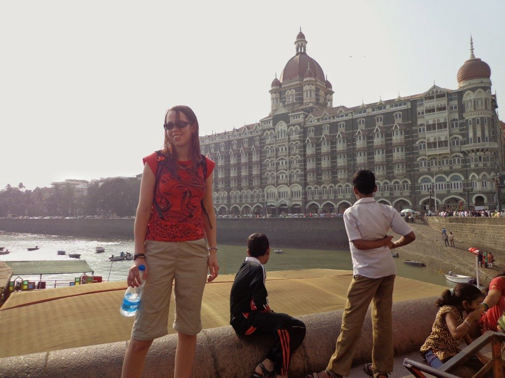 I survived my first, crazy day in India!