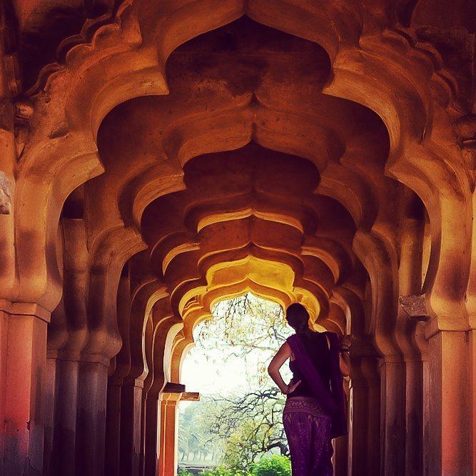 archways in Hampi