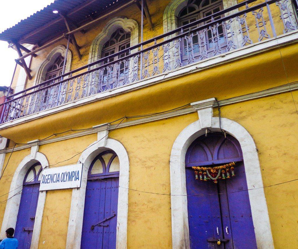 Old houses in Panjim