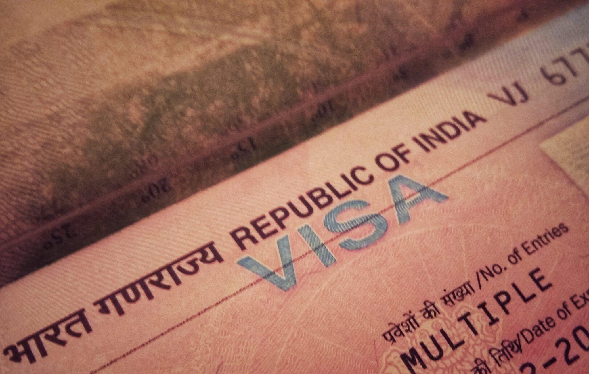 Виза в Индию. Как и где получить. Документы 40