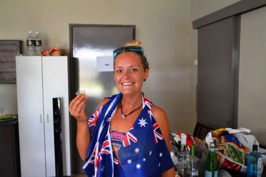 Mel feeling at home in Australia