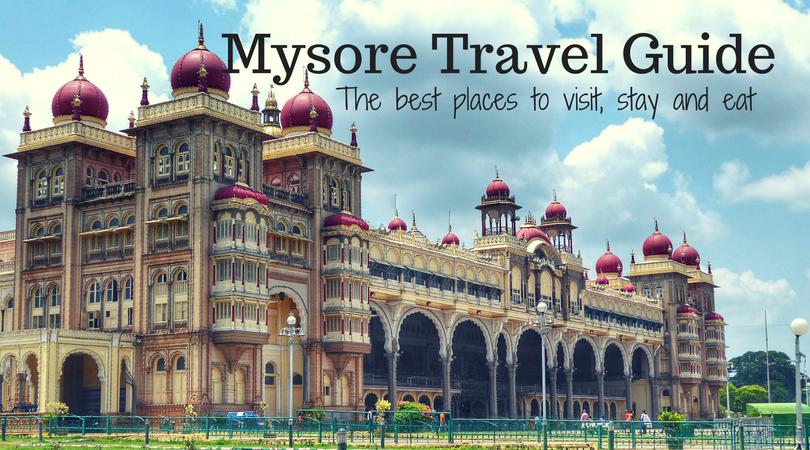 mysore tourist places guide pdf