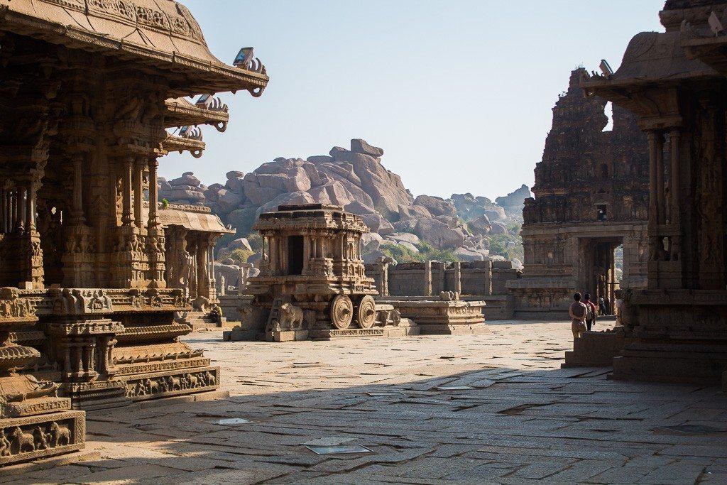 The Vittala Temple in Magical Hampi