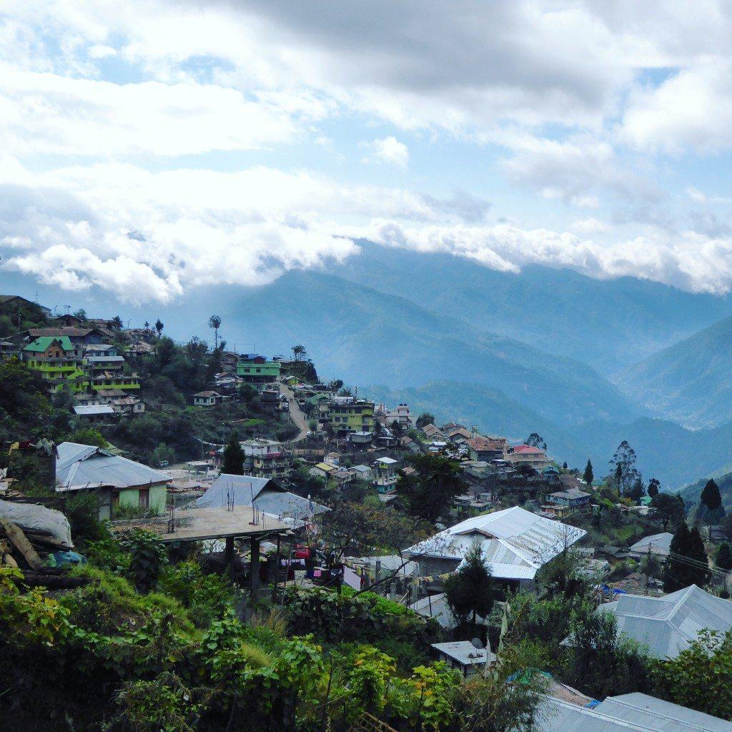 Views over Bpmdila, Arunachal Pradesh