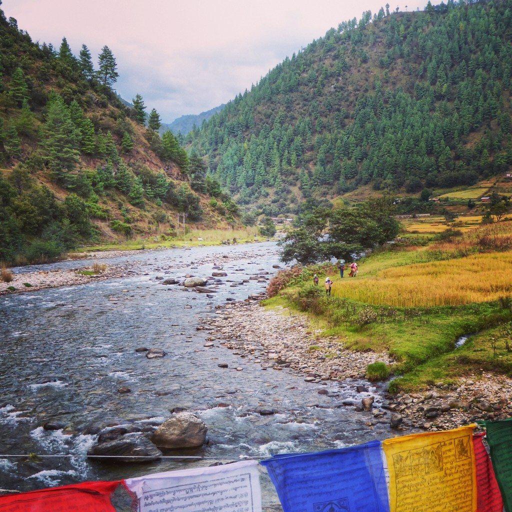 River Valley in Arunachal Pradesh