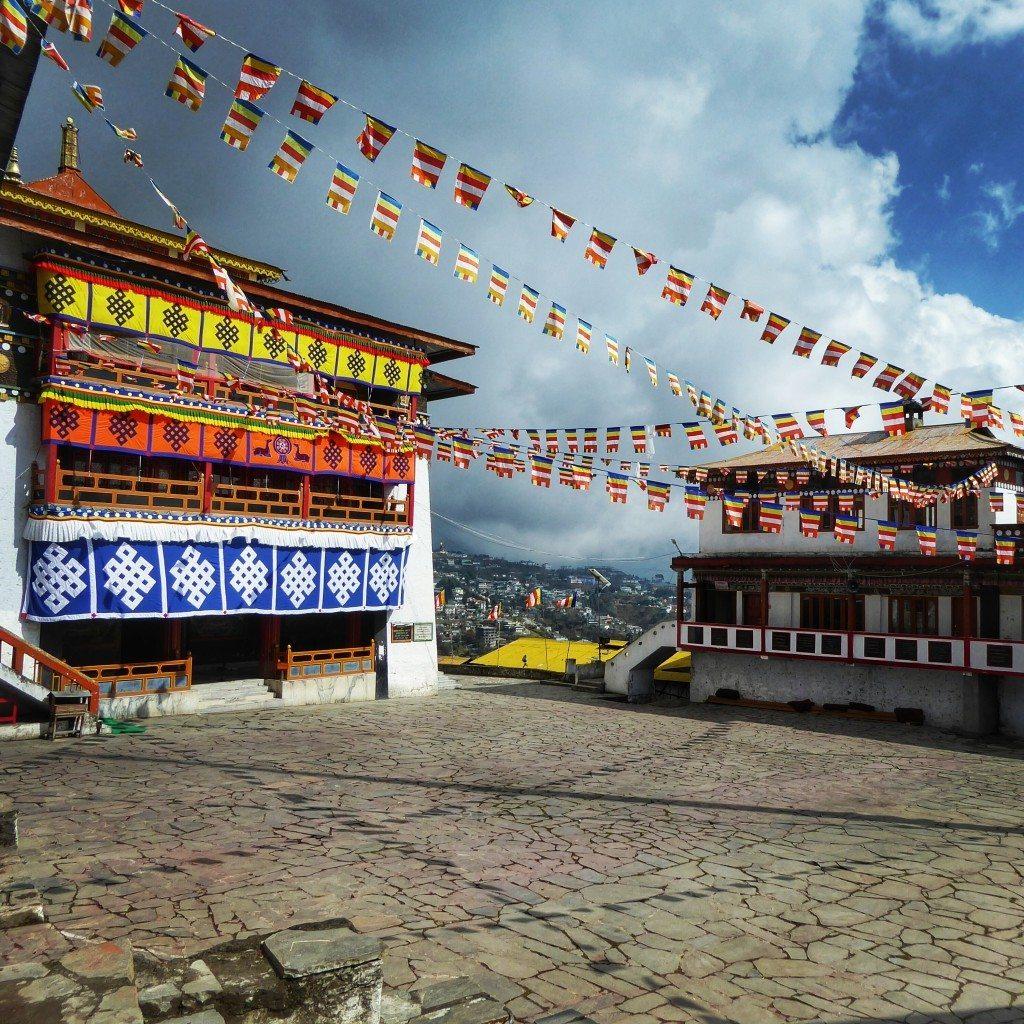 Tawang monastery in Arunachal Pradesh, India