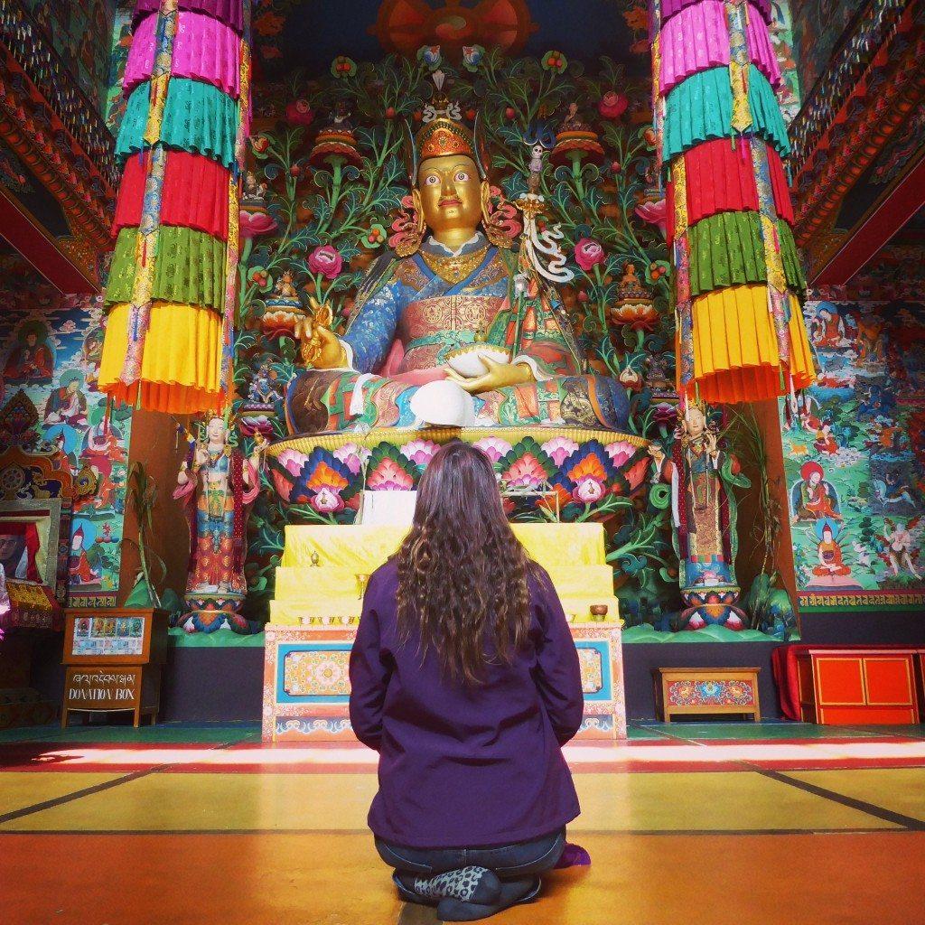 Inside the Khinme Monastery, Tawang, Arunachal Pradesh
