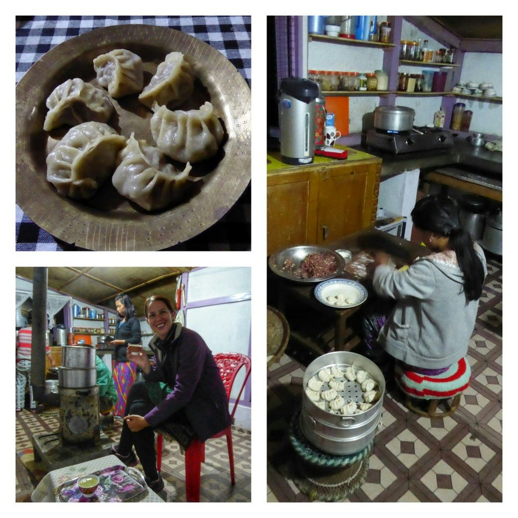 Tibetan food at our homestay in Bomdila with Holiday Scout
