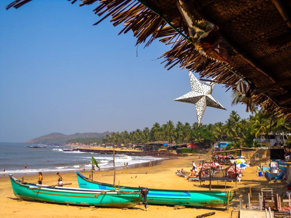 south anjuna beach goa beach shack star