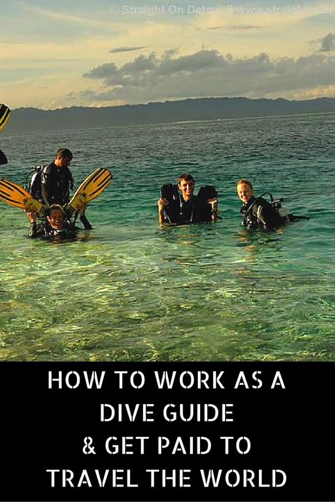 How to work as a dive guide and get paid to travel the world