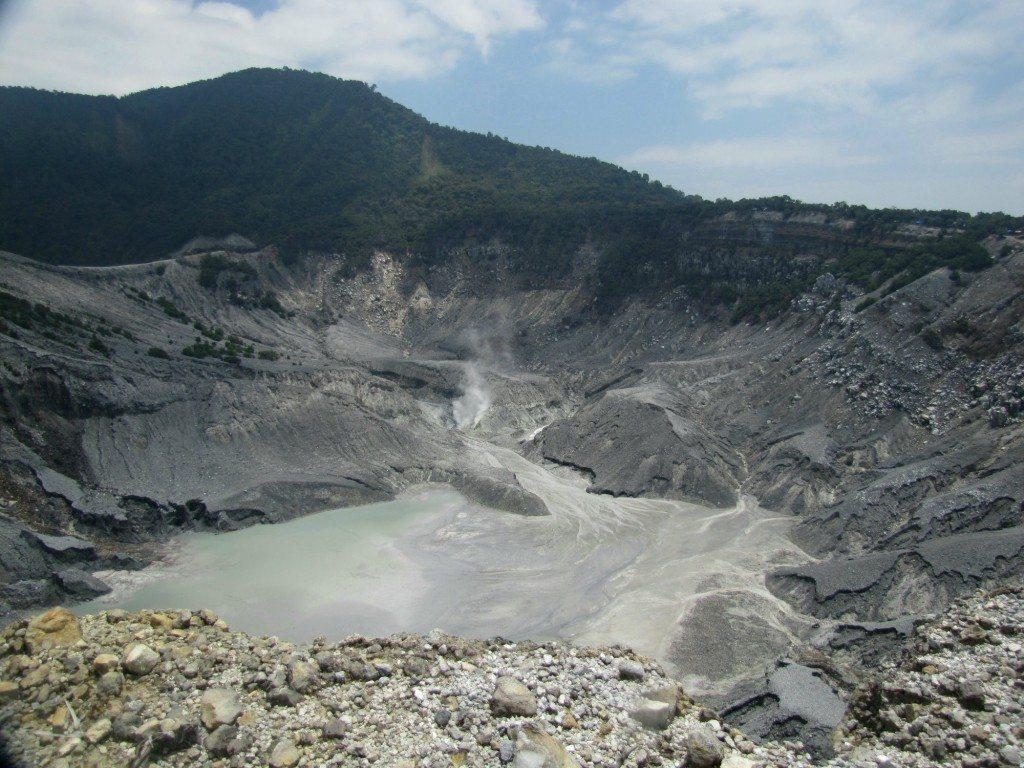 Tangkuban Perahu Volcano near Bandung