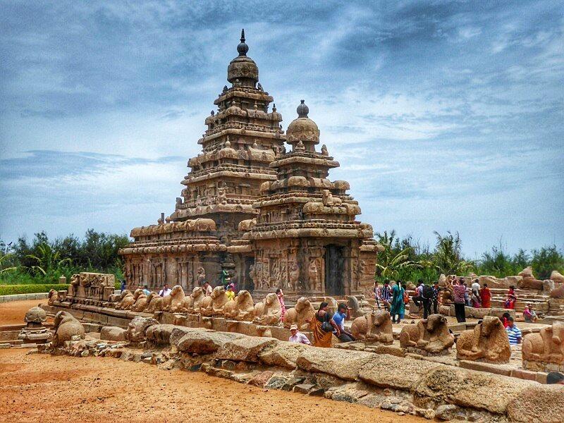 Kanchipuram, Mahabailpuram