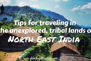 Tips for Traveling in North East India (1)