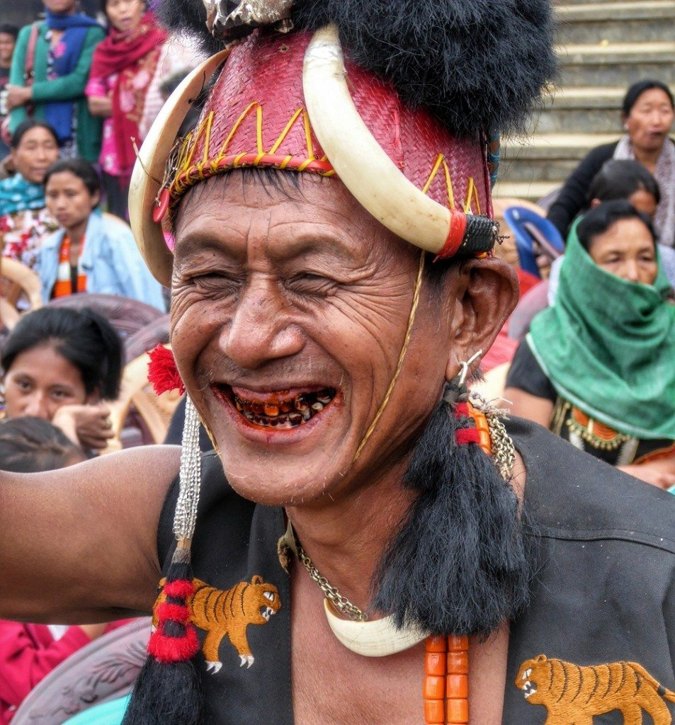 meeting the last surviving headhunters of nagaland global headhunter man enjoying the aoling festival