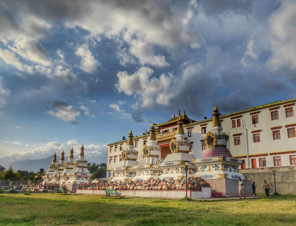 Choukling monastery in Bir, Himachal Pradesh, India