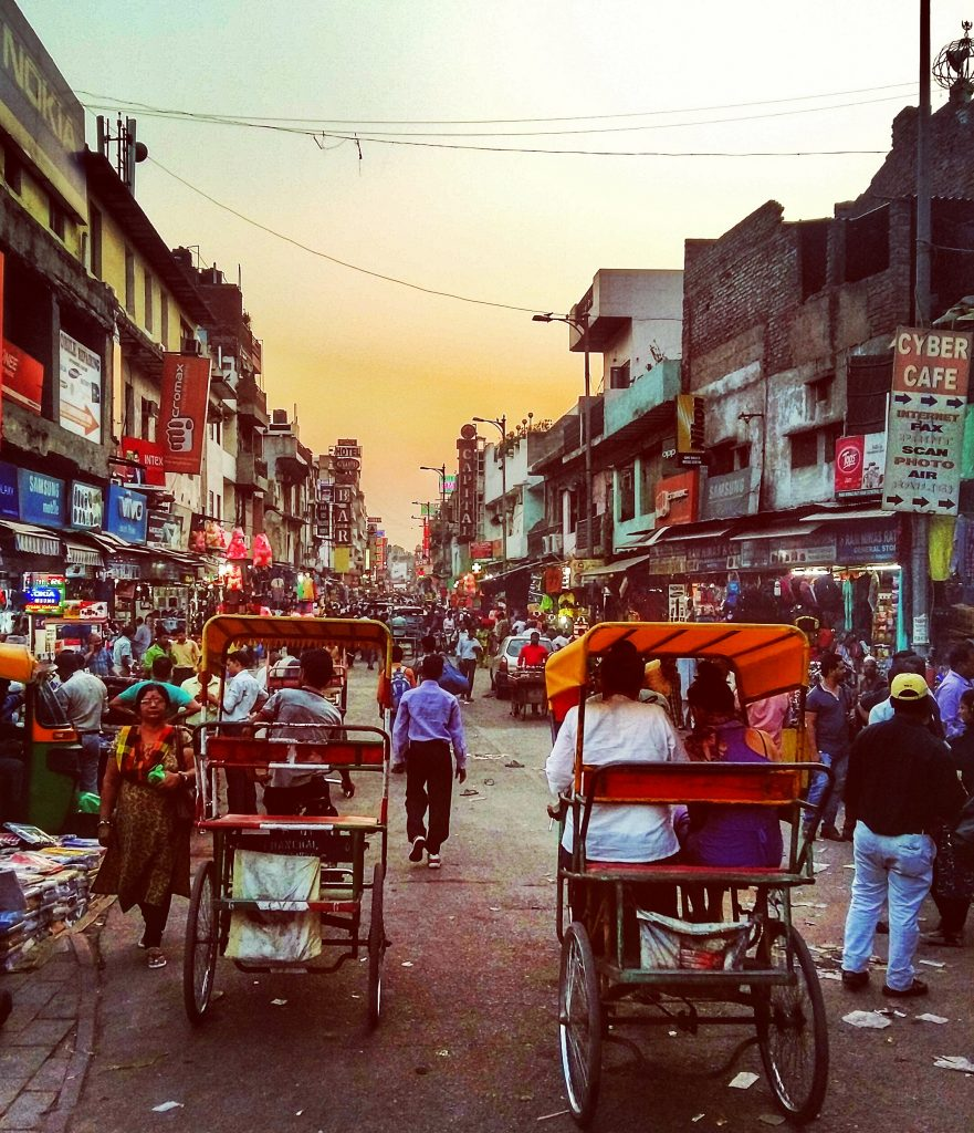 Paraghanj in Delhi - where many travellers start their Indian expereince can be a little overwhelming when visiting India for the first time but once you get used to it Delhi can be fun