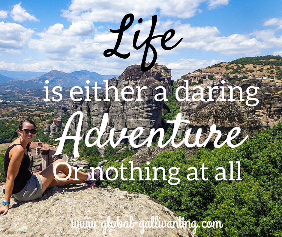 Life is either a daring adventure of nothing at all