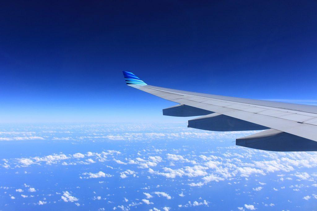flying in australia