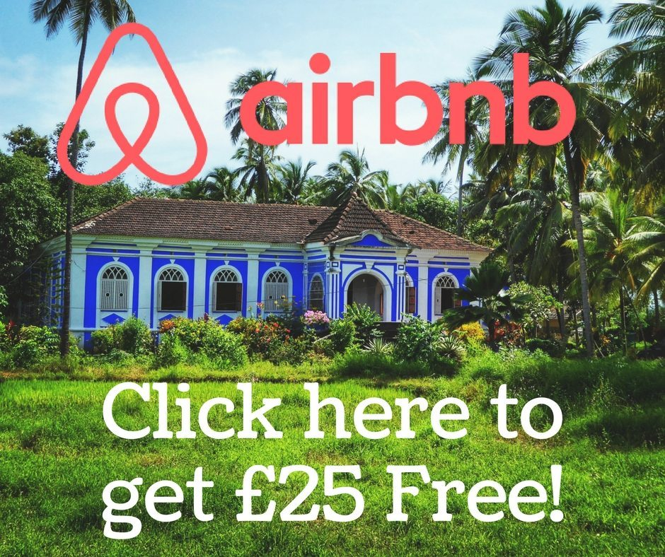 Get £25 free for Air BnB
