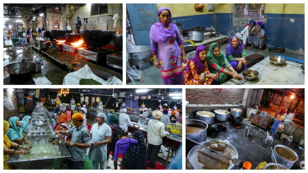 golden temple kitchen collage