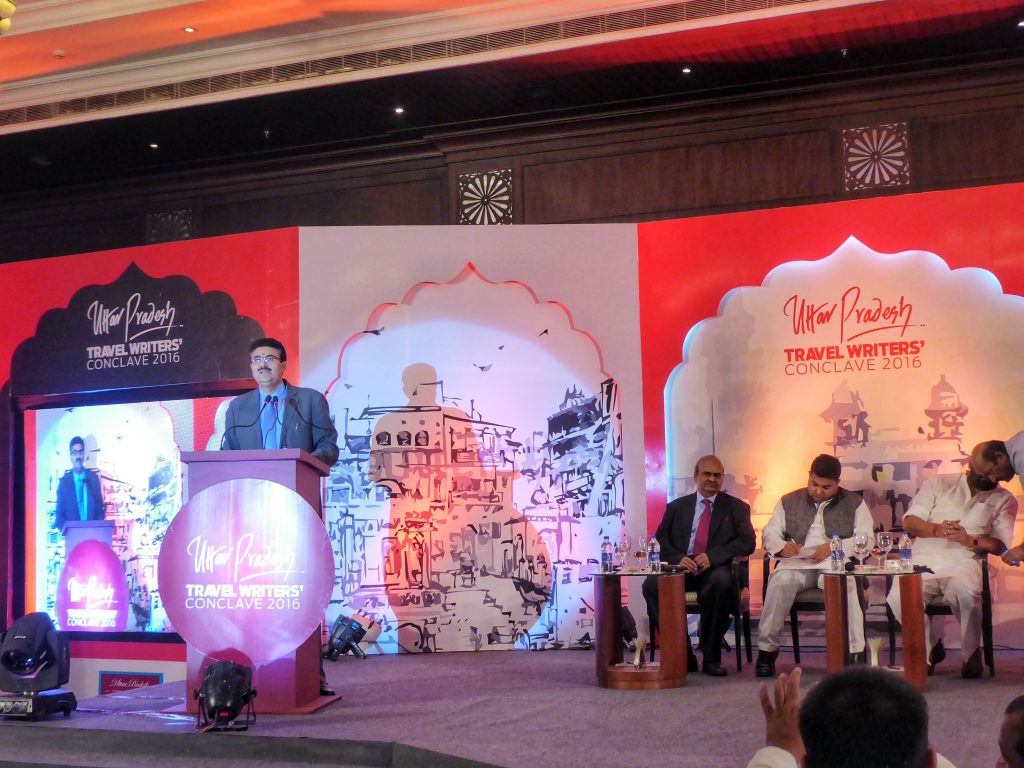 Uttar Pradesh Travel Writers'Conclave 2016 in Varanasi