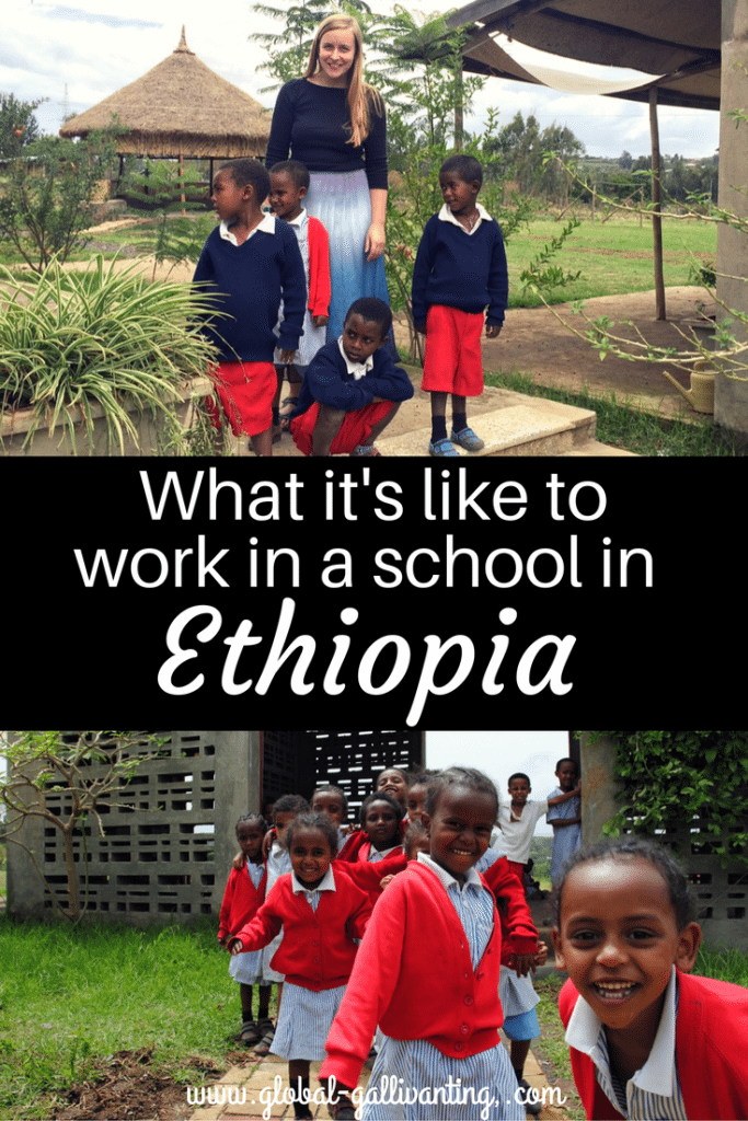 What its like to work in a school in Ethiopia