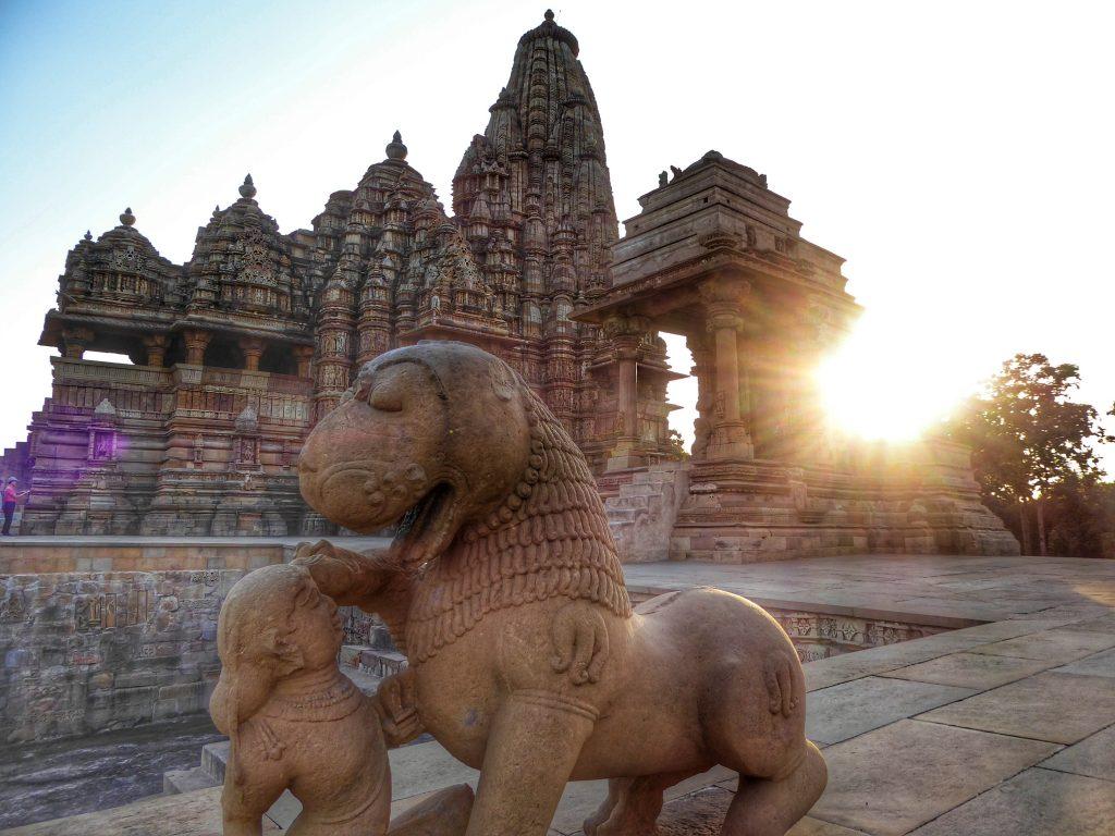 Temples in Khajuraho, Madhya Pradesh
