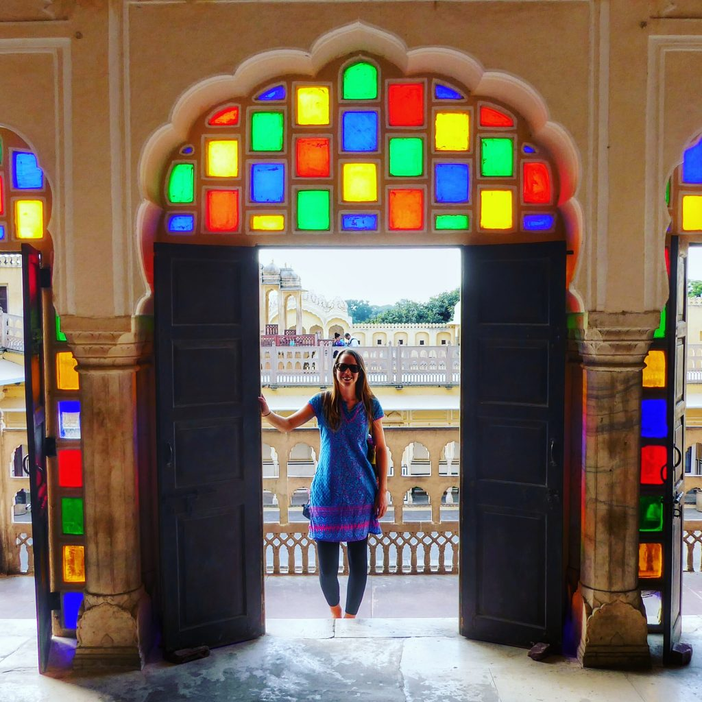 Exploring the Hawa Mahal in Jaipur, Rajasthan