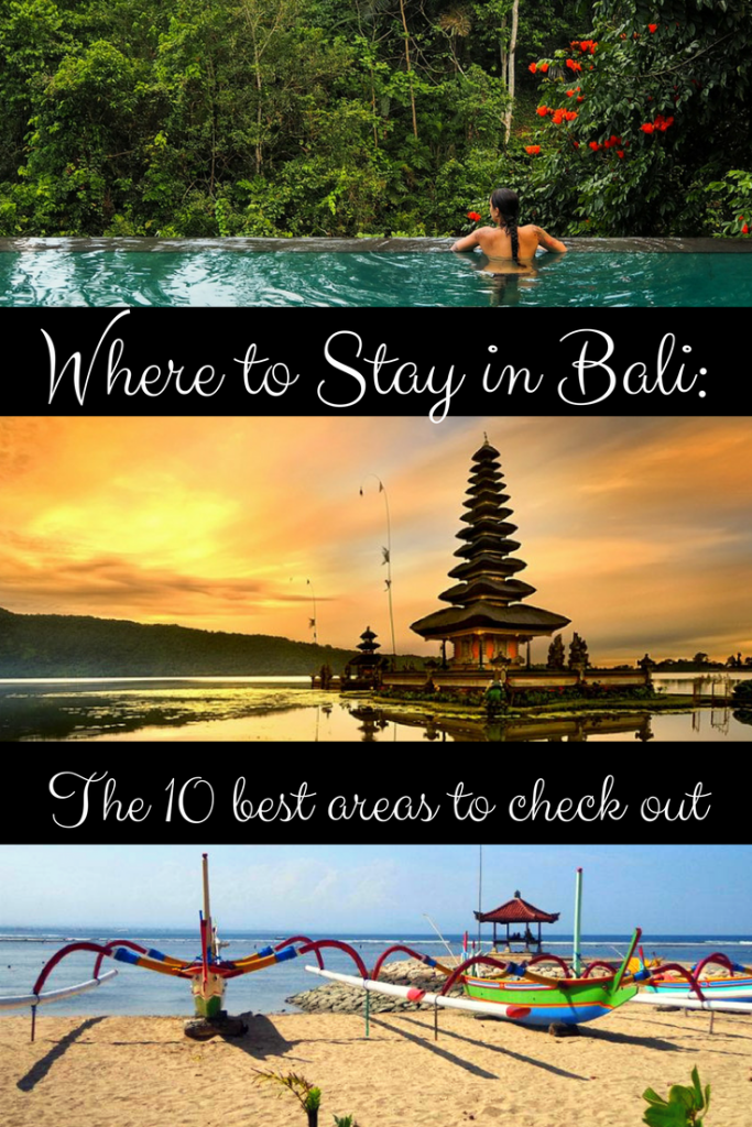 the best places to stay in Bali