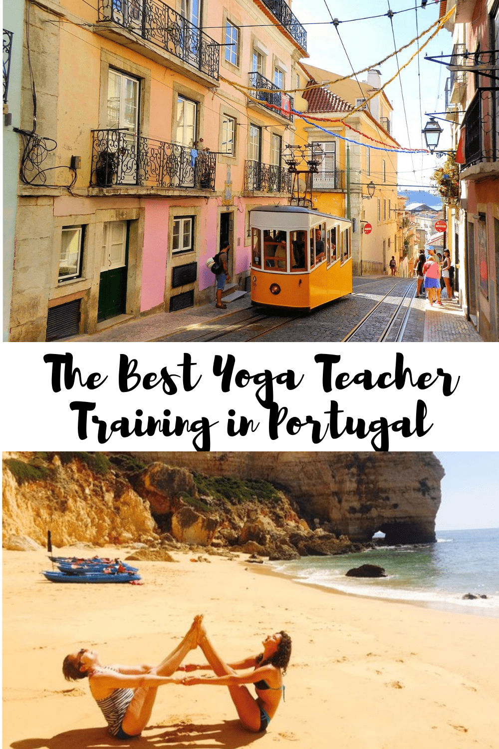 The Best Yoga Teacher Training in Portugal pin